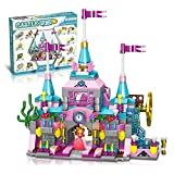 Funyole Building Blocks Toys for Girls 5 6 7 8 9 10 11 12 Year Old, 622 Pieces Princess Castle Construction Play Set with 25 Play Styles, Educational Building Blocks Kit Gifts for Birthday Christmas
