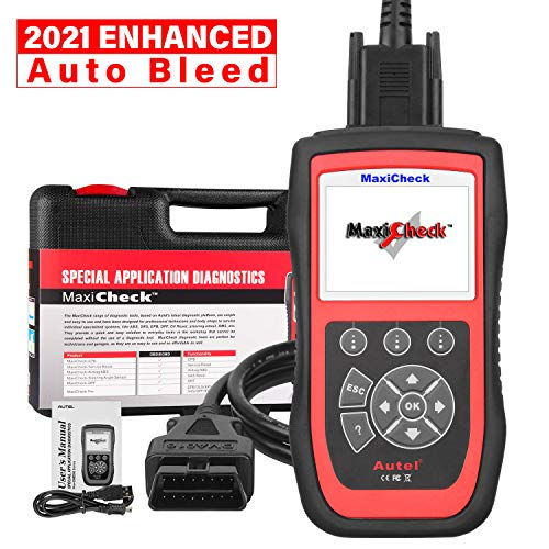 Autel MaxiCheck Pro OBD2 Scanner Automotive Diagnostic Scan Tool with ABS Auto Bleed, SRS Airbag, Oil Reset, SAS, EPB, BMS for Specific Vehicles