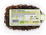 Bionsan Pasas Sultanas Ecológicas - 6 Cajitas de 200 gr - Total : 1200 gr