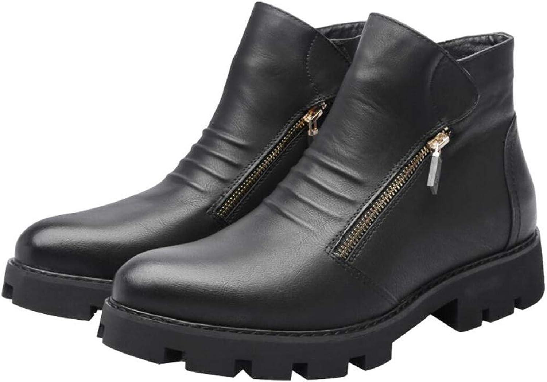 Men's Boots High-Top Retro Boots England Style Platform shoes