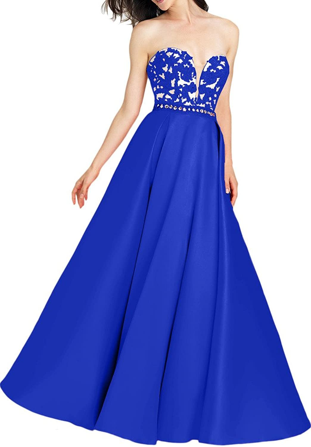 MILANO BRIDE Stunning Ball Gown Strapless Applique Pleated Prom Pageant Dress