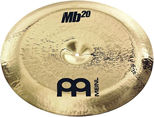 Meinl Cymbals MB20-18RCH-B MB20 Serie 45,7 cm (18 Zoll) Rock China Brilliant Becken