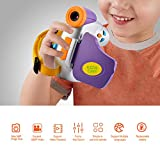 Kuizhiren1 Kinder-Digitalkamera-Camcorder-Recorder, tragbar, 4,4 cm, Cartoon, 1080P, 4-facher Zoom, Mini Kinder-Digitalkamera