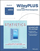 Statistics: Unlocking the Power of Data, Second Edition Binder Ready Version with WileyPlus Card Set