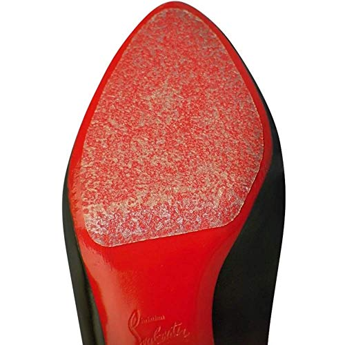 6 Pack- Sole Protector Stickers for High Heel Shoes - Clear 3M CL Christian Louboutin Red Bottoms -...