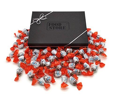 Kinder Schoko-Bons Geschenkbox - 77 Schoko-Bons hochwertig verpackt, perfekt für alle die gerne naschen!
