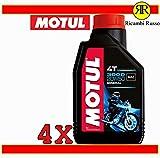Olio motore moto Motul 3000 20w50 4T minerale litri 4