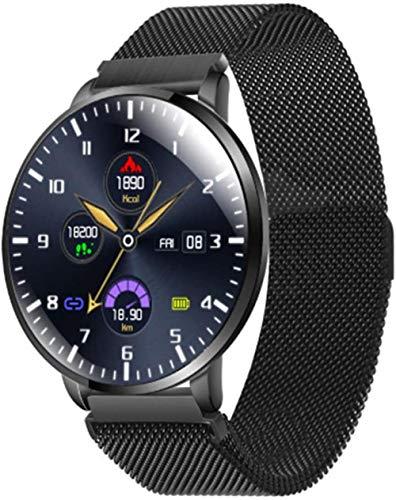 IP68 reloj inteligente impermeable para hombres y mujeres podómetro pulsera inteligente cronómetro reloj fitness