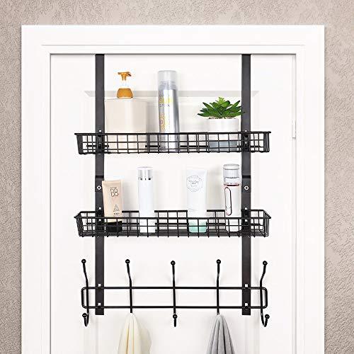 Over The Door Hooks for Bathroom Towel Storage