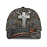 Vnezz 2021 Christian Hunting Fishing Lover Classic Cap