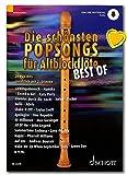 Schott Music ED23235 9783795719395 - Palomitas para flauta dulce vieja (edición con audio en línea y pinza para partituras)