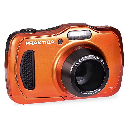 Praktica Luxmedia wp240 Wasserdicht Digital Kompakt Kamera Praktica WP240 Orange