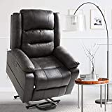 Aoxun Electric Power Lift Recliner Chair, Upholstered Lift Chair...