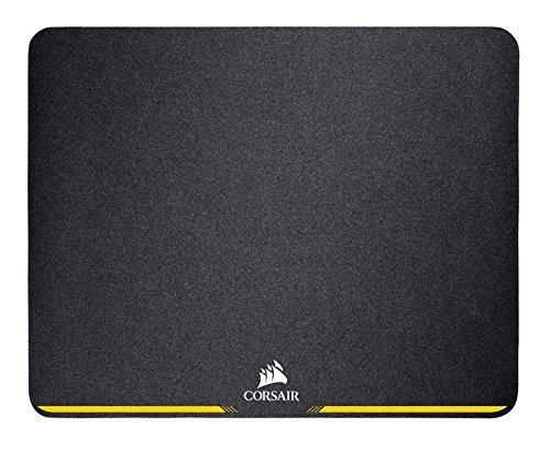 Corsair MM200 - Alfombrilla de ratón para juego, superficie paño, tela, Tamaño Pequeño,  Negro