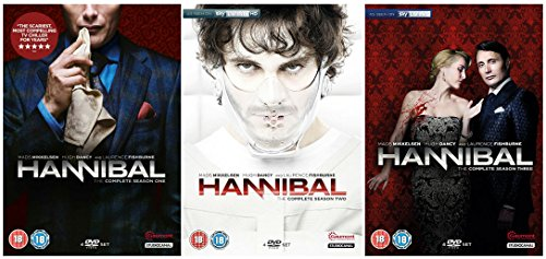 US TV Drama As Seen on SKY Living: Hannibal Complete Season 1-3 Collection + Bonus Features: First Look Featurette + Forensics 101 Featurette