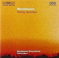 メンデルスゾーン:弦楽五重奏曲第1番イ長調 Op18 弦楽五重奏曲第2番変ロ長調 Op87 [Import] (String Quintets)