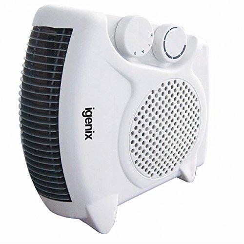 Igenix IG9010 stufetta elettrica Stufetta con elettroventola Bianco 2000 W