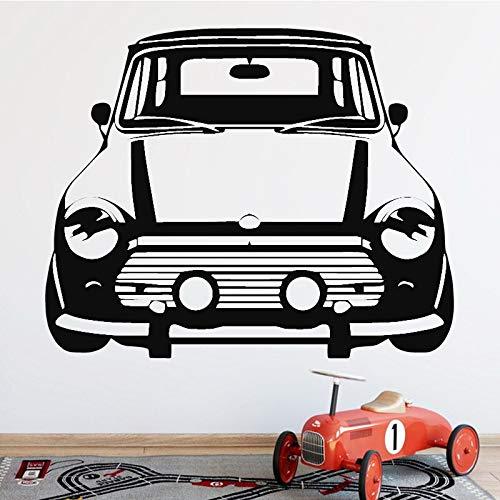 zqyjhkou Lustige Kreative Auto Hintergrund Vinyl Wandaufkleber für Kinder Schlafzimmer Dekoration Home Wohnzimmer Paste Aufkleber Wand Decor 42x35 cm
