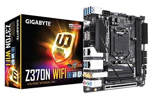 GIGABYTE Z370N WIFI Mini-ITX マザーボード [Intel Z370チップセット搭載] MB4164