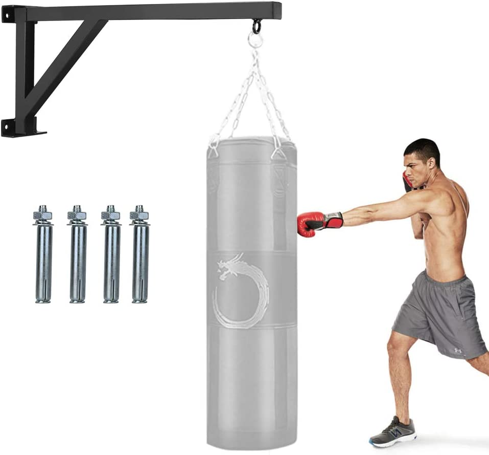 Liitrton Wall Mount Punching Challenge the lowest price of Japan Bag Heavy Boxing B Steel Our shop most popular Hanger