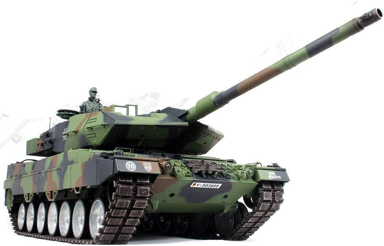 Tankgiocattolod Veicolo Fuoristrada ad Alta velocità 1 16 2.4G Leopard 2 A6 Full Tank da Combattimento modellolo in Mettuttio `Drift Racing auto giocattolo modello