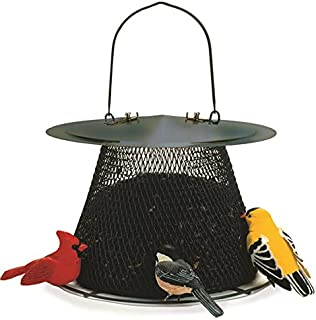 No/No Forest Green Original Bird Feeder with Roof Extension G00311