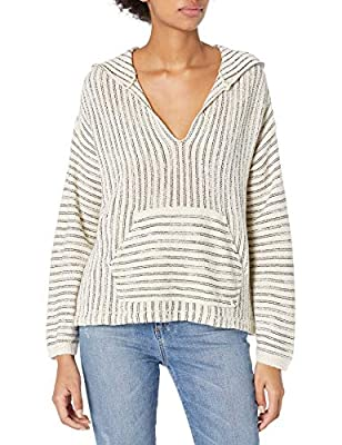 Billabong Women's Sandy Shores Sweater White Medium/10 by Billabong