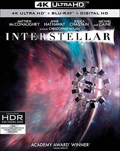Interstellar (4K UHD + Blu-ray + Digital)