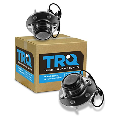 TRQ Front Wheel Bearing & Hub Assembly Pair for Chevy GMC Pickup Truck 2WD Van