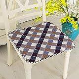 LemonDM Sitzkissen, weiche rutschsichere Sitzkissen tragen oder ertragen schmutzig-Auflage-Kissen,...