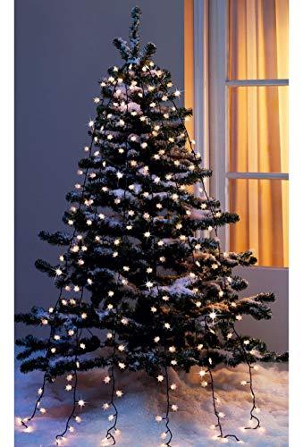 LED Weihnachtsbeleuchtung Lichterkette außen innen | Lichterkette innen | Lichterkette outdoor | Lichterkette innen strombetrieben | Lichterkette außen Strom | Deko Lichterkette Weihnachtsbaum