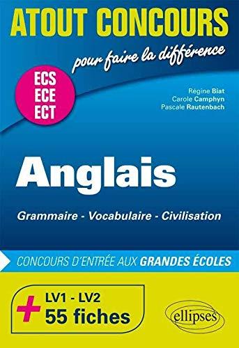Anglais Concours Dentree Aux Grandes Ecoles De Commerce Ece Ecs 75 Fiches