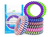 The Mosquito Company, Mosquito Repellent Bracelet's, 10 Insect repellent bands, Double Strength, Double