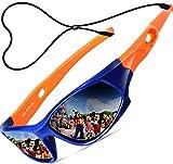 ATTCL Mixte Enfant Sport Lunettes De Soleil Polarisées UV400 Ultra Léger Flexible Cadre 5025 orange blue