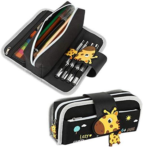 Housolution Pencil Case Large Capacity Pen Bag Cute Cartoon Stationery Organizer Detachable product image