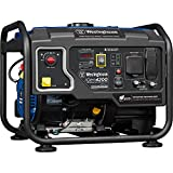 Westinghouse iGen4200 Hybrid Open Frame Inverter Generator, 3500 Rated Watts & 4200 Peak Watts-Gas Powered-RV Ready Outlet