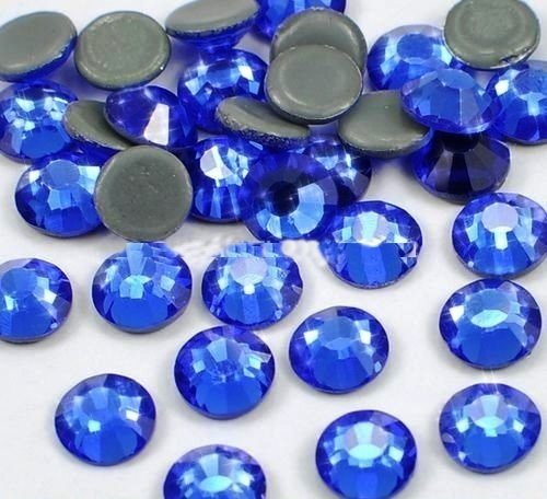 STRASS MC Stone collection 100pz SS20 5mm SAPPHIRE Blu azzurro termoadesivi