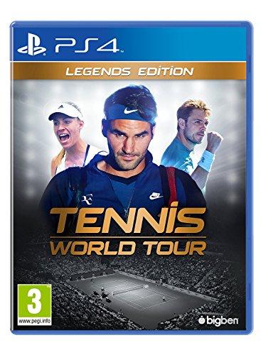 Tennis World Tour - Legends Edition - PlayStation 4 [Importación inglesa]