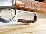 D4 Guns Handcrafted Leather Lever Wrap for Lever Action Rifles and Shotguns (Dark Brown/Dark Brown)
