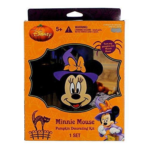 Disney Minnie Mouse Kit de décoration pour citrouille