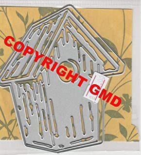 Gina Marie Metal Cutting Paper Craft die - Birdhouse - Bird House