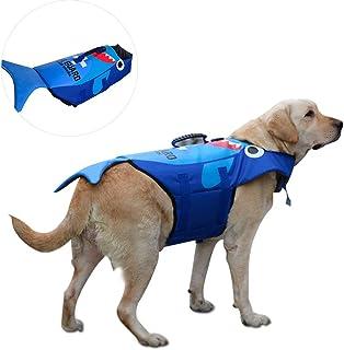 N / A Life Jacket for Dogs, Pet Life Jacket, Cosplay Dog Life Jacket Pet Float Coat Dog Vest