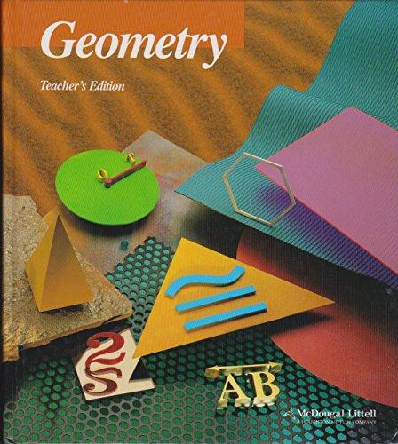 McDougal Littell Jurgensen Geometry Teacher Edition -  Ray C. Jurgensen, Teacher's Edition, Hardcover
