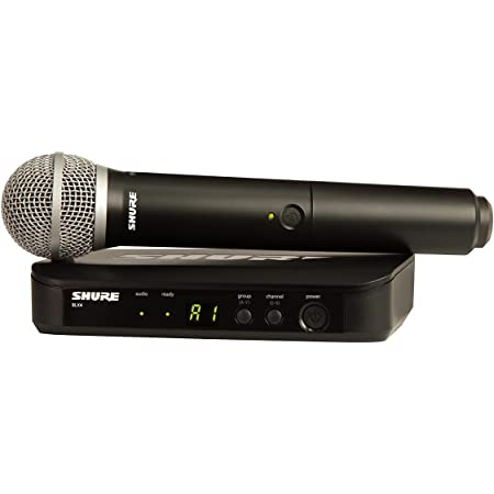 Shure BLX24/PG58-H9 Wireless Handheld Dynamic Microphone System