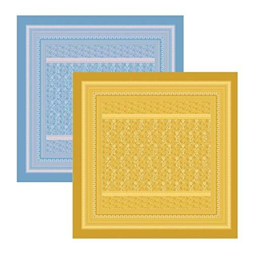 Bassetti Colcha, algodón, Azul, 180 x 260