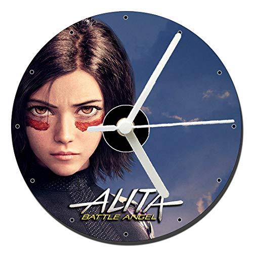 Alita Angel De Combate Alita Battle Angel Rosa Salazar D Reloj CD Clock 12cm