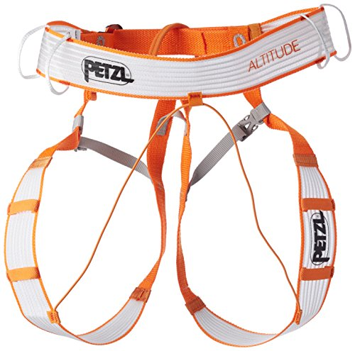 PETZL Unisex– Erwachsene SM Altitude Klettergurt Orange, S/M