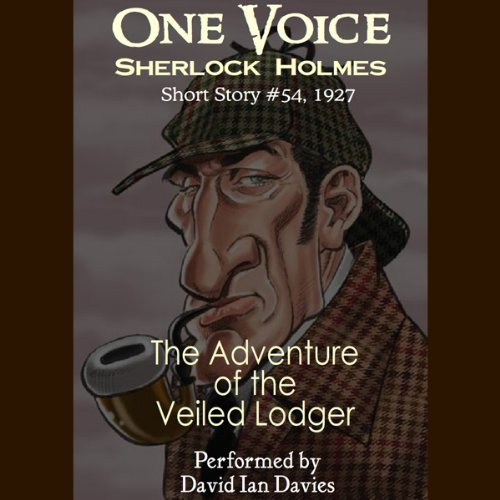 The Adventure of the Veiled Lodger audiobook cover art