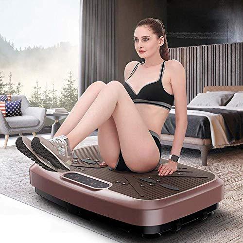 Vibrationsplatte for Fitness Verliere Fett Stromversorgung Karte Body Toning Schlankheitsvibrationsplatte Ganzkörperschütteln Swing-Plattform Vibration Trainer Dünne Arme dünne Taille dünn Bauch lucar