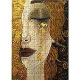 Tangram 300 pezzi Puzzle in legno Gustav Klimt (Gustav Klimt) Lacrime dorate Puzzle in legno Bambino Giocattolo educativo per adulti Regalo Decorazione della casa Dimensioni:26.5x38.5cm (L076)
